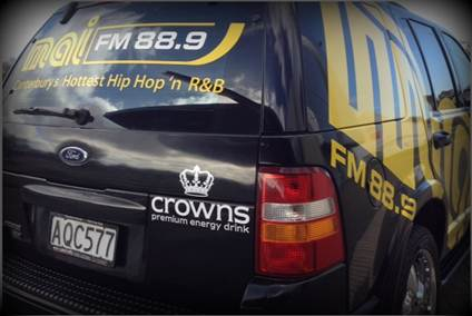 Catch Up with the Mai Street Team to score a  Crowns Premium Energy Drink!